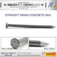 hardened steel concrete nails,hardened steel nails