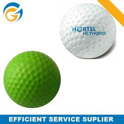 Colored Golf Pvc Inflatable Toy Pu Ball