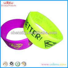 Silicone custom wrist bands with energy balances