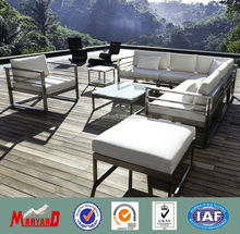 outdoor stainless steel furniture for garden and patio