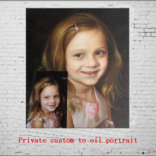 Handmade Private Custom To Oil Portrait Picture Wall Painting
