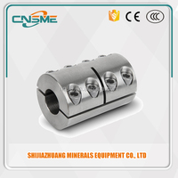 Climax Metal, 2CC-Series : Two-Piece Clamping Coupling with Recessed Screw with or without Keyway