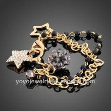 Stylish fashion jewellery fashion stone fashion bracelet 2012