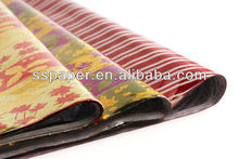 beauty printed gift wrap metallized bopp film