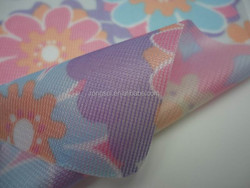 nylon/polyester printed tricot fabric laminated with TPU film/membrane suntan-proof wear, thin skin wear fabric