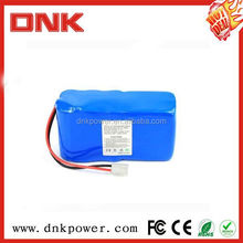 OEM rechargeable 3.7v 7.4v 12v 14.4v 2000mah li-ion rechargeable battery pack