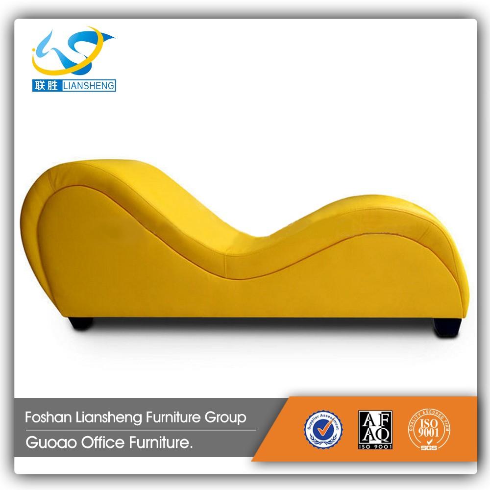 현대 사용자 노란색 가죽 호텔 사랑 섹스 소파 사랑 의자 거실 ...