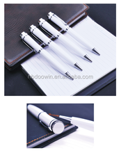 White color metal ball pen