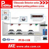 2014 AKE Vehicle Detection sensor System-Indoor Parking Guidance System with ultrasonic detector sensor