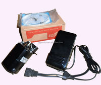 150W domestic sewing machine motor with foot controller