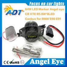 64W CR EE Angel Eyes Headlight FOR BMW Pre-Facelift E90 E91 3S