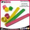 Artigifts Newest Promotional Cheap Custom Silicone Slap Bracelet
