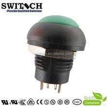 SPST IP67 miniature waterproof push button switch