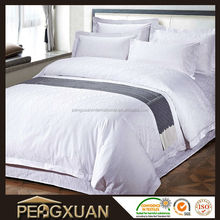 China supplier hotel egyptian cotton flat fitted bed linen