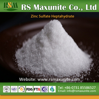 agriculture fertilizer ZnSO4 zinc sulphate heptahydrate high quality price