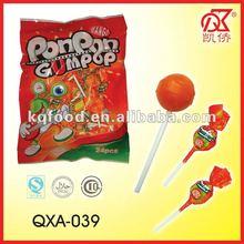 21g Mango Pon Pon Bubble Gum Twist Lollipop