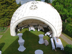 large inflatable lawn dome tent,inflatable camping tent for wedding