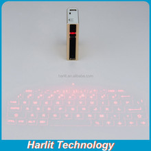Wireless Virtual Laser Bluetooth Keyboard with Power Bank 5200 mAh