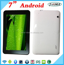 Cheap 7 Inch Android Tablet Pc Android Smart Phone With Dual Core,Wifi, Bluetooth