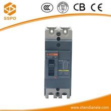 EZC 2p 100A electrical circuit breaker moulded case circuit breaker