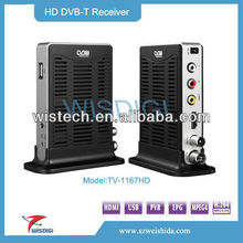 Low Price & High Quality Mini MPEG4 HD DVB-T TV Decoder with HDMI Output+ScartMPEG4