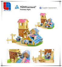 Funny Educational Toys Wooden 3d Puzzle DIY Toy
