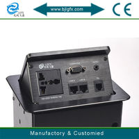 Multi-function pop up 3 pin socket electrical outlet multiple socket
