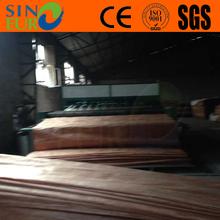Exact thickness 0.3mm+ Grade A/B/C/D/E gurjan wood face rotary cut natural face veneer