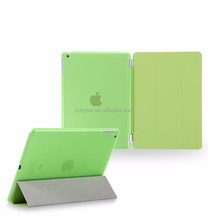ultra slim factory wholesale flip leather stand case for ipad5