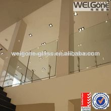 12mm balustrade en verre en verre trempé