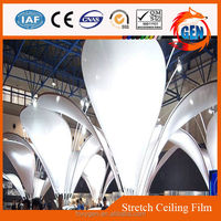 Factory cheapest Decorative ceiling films up to 5-meter wide
