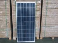 cheap 150w poly crystalline photovoltaic solar panel bank solar panel frame sale