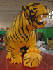 Lifelike !!!advertising event decoration inflatable tiger/oxford/inflatable tiger cartoon/tiger figure/character/yellow--W642