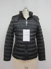 high quality chian factory sale short length waterproof winter padded coat for woman