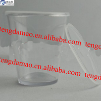 disposable hard plastic cup/2014 hot super quality hard plastic cup