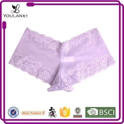China Manufacturer Pretty Pattern Plus Size Female Transparent Panty Pic