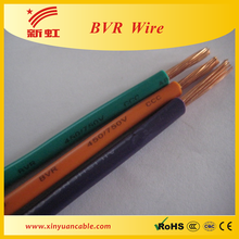 Low voltage copper conductor PVC coated electrical cable 4x25mm2