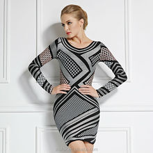 latest 2014 high fashion bandage dress for women annual meeting