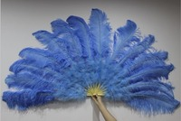 Hot Sale Ostrich Feather Dancing Large Fan,Single Face Feather Fan