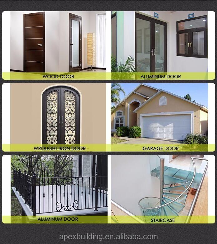 Ext rieur en bois mod les de portes simples utilis en bois massif portes ext - Porte insonorisee interieur ...