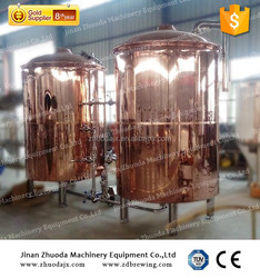 industrial beer brewery factory 1000L beer brew kettle for restaurant and hotel