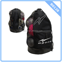 AGORA 12-15 Soccer Balls Heavy Duty Mesh Ball Carrier Bag