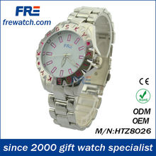 promotional alloy set watches price fashion metal wrist watch for men