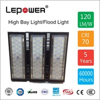 MeanWell driver 5 years Warranty SAA RoHS LVD CQC CE 150w led high bay light/flood light with factory price