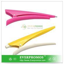Novelty Design Hair Clip Pen For Fun