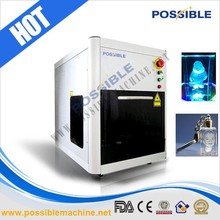 China Possible brand crystal crafts marking equipment price with high efficiency