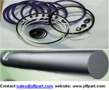 hydraulic road concrete breaker hammer parts montabert seal kits moil point tool BRP130 BRP140 BRP150 BRH501 BRH625 BRH750 250