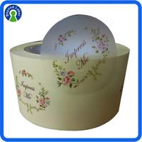 Wholesale Clear Label Print Roll For Bottle Label, Adhesive PE/BOPP/PET/PVC Sticker