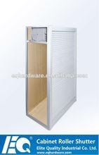 elegante cocina de laminado de aluminio de la puerta del gabinete