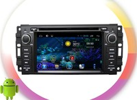 android 4.4 double din car dvd For Chrysler/Dodge/Jeep RDS ,GPS,WIFI,3G,support OBD
